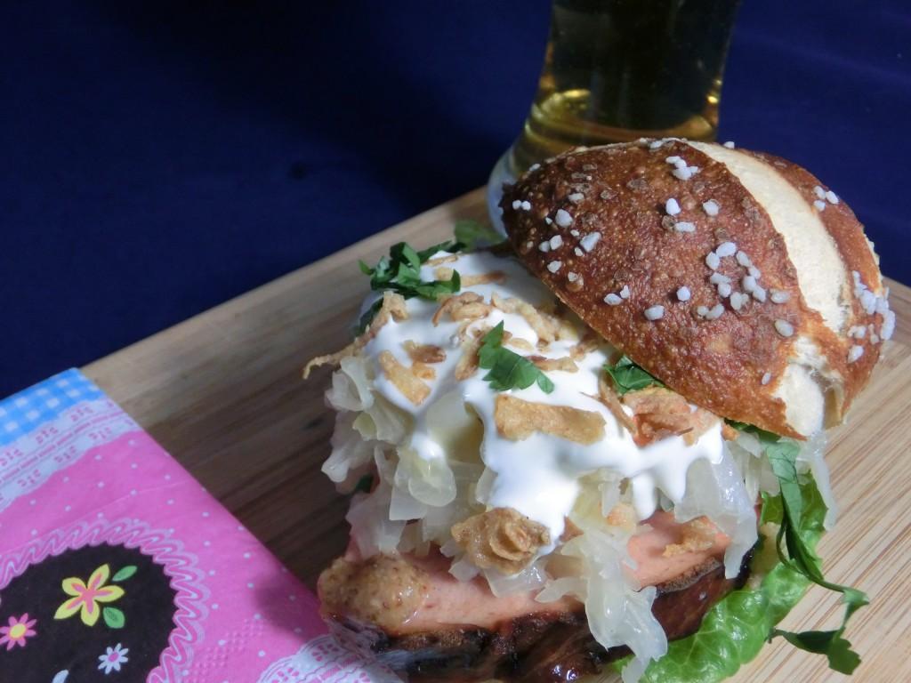 Burger_Leberkäse_Sauerkraut_3