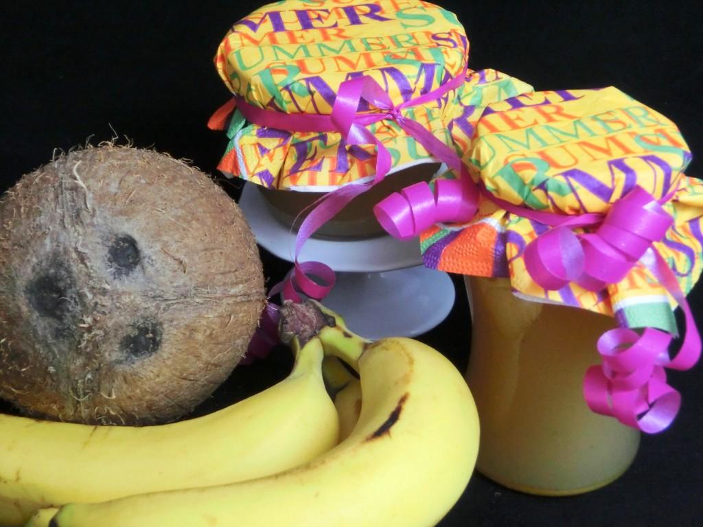 Kokos Banane Fruchtaufstrich_3