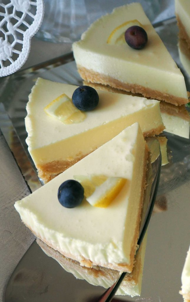 Zitronen Philadelphia Torte Kleinekostbarkeit